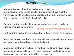 chicken management swahili 025 300x225 Ufugaji wa kuku kwa njia ya kisasa