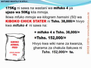chicken management swahili 010 300x225 Ufugaji wa kuku: Namna ya kuanza na mchanganuo wa mapato na matumizi