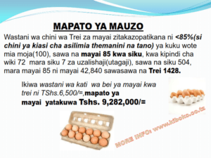 chicken management swahili 016 300x225 Ufugaji wa kuku: Namna ya kuanza na mchanganuo wa mapato na matumizi