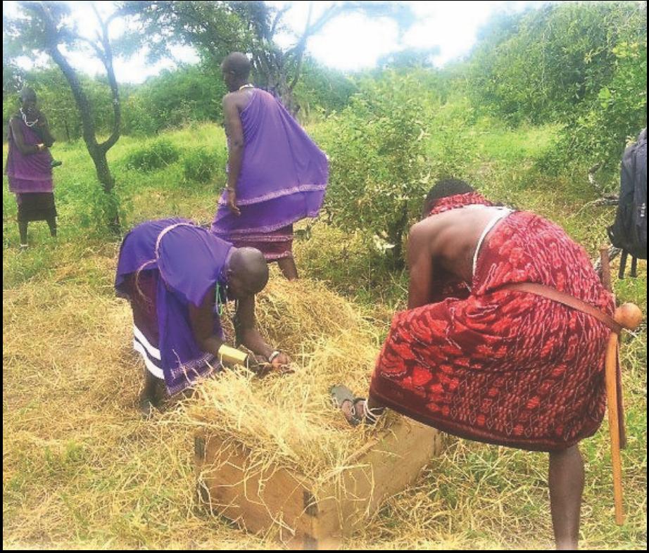 Uvunaji na uhifadhi wa malisho asilia kwa mifugo
